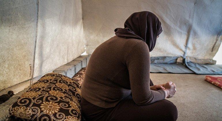 Una mujer Yazidi kurda que estuvo secuestrada por el ISIS. Foto: Giles Clarke/ Getty Images Reportage