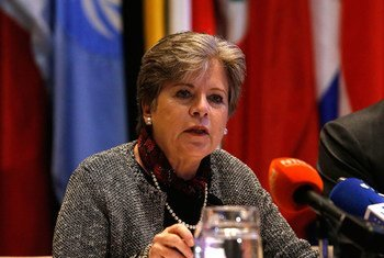 La Secretaria Ejecutiva de la CEPAl, Alicia Bárcena.