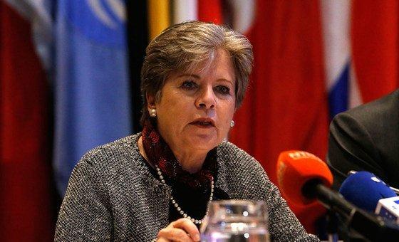 Secretária-executiva da Cepal, Alicia Bárcena.