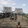 Sitio de protección de civiles de la ONU en Malakal, en Sudán del Sur. Foto: ONU / Isaac Billy