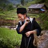 A H/mong hill tribe woman in a village of Sin Chai, Sapa, Viet Nam. Women's labour accounts for the two-thirds of subsistence agriculture in developing countries, yet they often have no rights over the land.