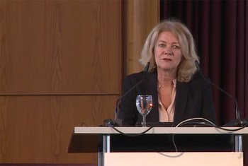 Alison Smale is the Under-Secretary-General for Global Communications, United Nations Department of Public Information.