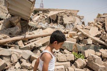حي الرسالة في غرب الموصل.