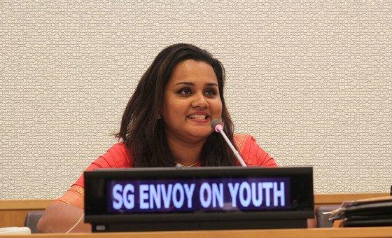 Специальный посланник ООН по делам молодежи Джаятма Викраманаяке. Фото Дж.Уокер