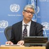 فرحان حق نائب المتحدث باسم الأمم المتحدة.