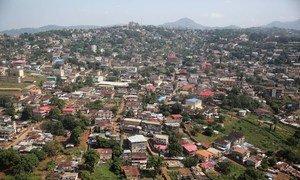 A view of Freetown Sierra Leone.