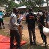 联合国世界粮食计划署与合作伙伴在刚果民主共和国提供粮食援助。