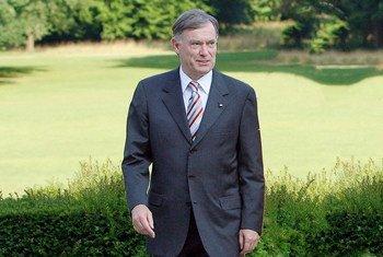 Horst Köhler, newly-appointed Personal Envoy for Western Sahara (file).