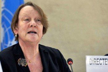 Jane Connors, Défenseure des droits des victimes pour les Nations Unies. Photo ONU/Jean-Marc Ferré