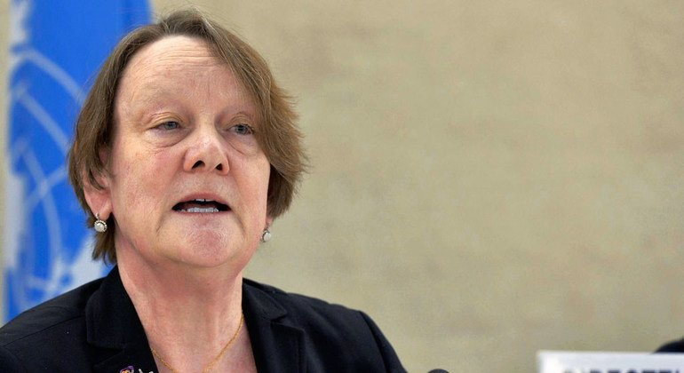 Jane Connors, newly-appointed Victims' Rights Advocate for the United Nations.