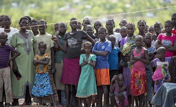 O Uganda abriga mais de 1 milhão de refugiados.