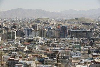 Vista de Kabul, la capital de Afganistán.