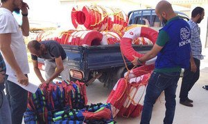The UN Migration Agency (IOM) provides lifesaving equipment to Libyan authorities as part of a wider intervention to strengthen the Government's humanitarian capacity.