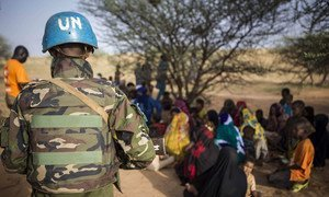 Civil-military activities conducted by the UN Multidimensional Integrated Stabilization Mission in Mali (MINUSMA) for the benefit of the population include, free medical consultations, awareness-raising activities related to mines and improvised explosive devices.