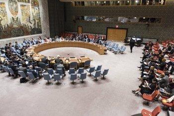 (من الأرشيف) مجلس الأمن الدولي. الصورة: الأمم المتحدة- مارك غارتين.