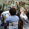 La Oficina en México del Alto Comisionado de las Naciones Unidas para los Derechos Humanos (ONU-DH) participa en un acto para exigir a la Cámara de Diputados que apruebe la ley general sobre desaparición de personas. Foto: ONU DH México