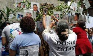 Управление ООН по правам человека в Мексике требует от Палаты депутатов принять законопроект о насильственных исчезновениях.