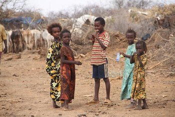 Children are missing out on education as most schools have closed due to the drought in Bandarero village, Moyale County, Kenya.