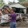 Devastación en Nagua, República Dominicana, tras el paso del huracán Irma el 7 de septiembre de 2017. Foto: UNICEF