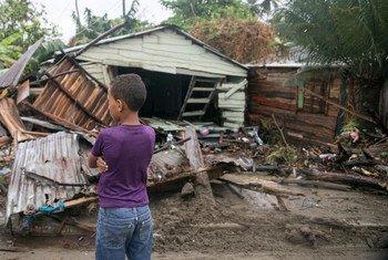 آثار الإعصار إيرما في جمهورية الدومينيكان.