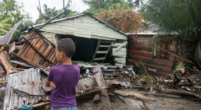 Rise in Caribbean children displaced by storms shows climate crisis