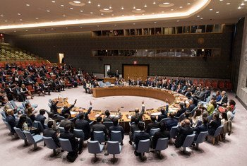 Security Council unanimously adopts resolution to impose tighter sanctions on the Democratic People's Republic of Korea (DPRK).