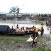 Llegada de refugiados Rohingya a Bangladesh. Foto: Saikat Biswas/OIM