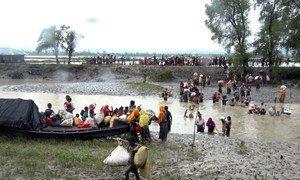 Представители народности рохинджа, которые были вынуждены бежать из Мьянмы  в Бангладеш. Фото МОМ