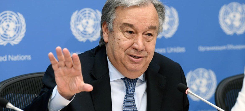 António Guterres, Secretario General de la ONU. Foto de archivo: ONU/Evan Schneider
