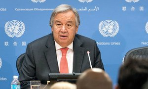 Secretary-General António Guterres holds a wide-ranging press conference ahead of the general debate of the 72nd session of the General Assembly.
