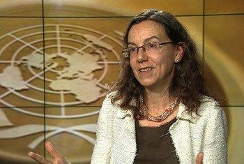 Conselheira-sênior para Política das Nações Unidas, Ana María Menéndez.
