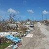 Daño del huracán Irma en Barbuda. Foto: UNDAC/Silva Lauffer