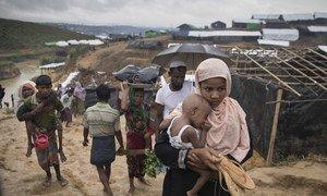 Беженцы из Мьянмы. Фото  УВКБ