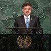رئيس الدورة الثانية والسبعين للجمعية العامة ميروسلاف لايتشاك - الصورة: الأمم المتحدة
