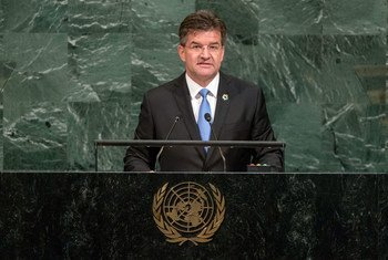 Presidente da Assembleia Geral, Miroslav Lajcak.