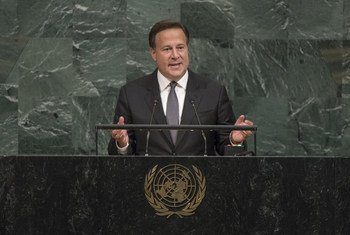Juan Carlos Varela Rodríguez, President of Panama, addresses the general debate of the 72nd Session of the General Assembly.
