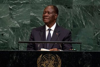 President Alassane Ouattara of the Republic of Côte d'Ivoire addresses the general debate of the General Assembly's seventy-second session.