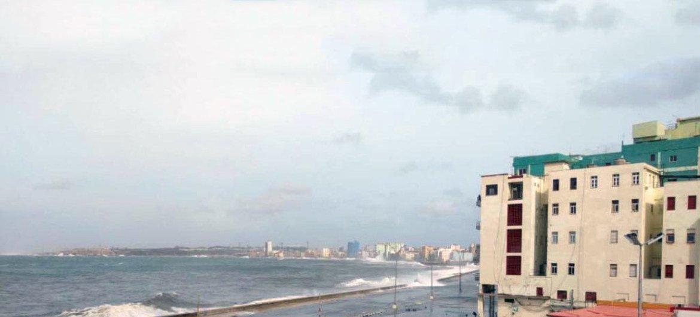 Le bord de mer de La Havane, la capitale cubaine.