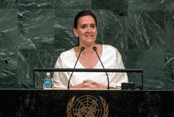 Vice-President Marta Gabriela Michetti Illia of Argentina addresses the general debate of the General Assembly's seventy-second session.