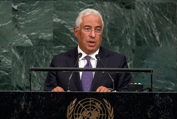 Prime Minister António Luís Santos da Costa of the Republic of Portugal addresses the general debate of the General Assembly's seventy-second session.