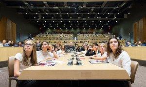 Acto en la sede de la ONU sobre financiación para la educación de la Agenda 2030 sobre desarrollo sostenible.