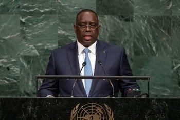 Le Président de la République du Sénégal, Macky Sall, aborde le débat général de la 72e session de l'Assemblée générale.