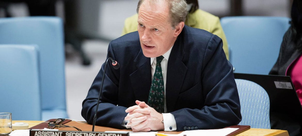 Andrew Gilmour, UN Assistant Secretary-General for Human Rights (file).