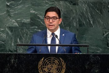 Nasser Bourita, Minister for Foreign Affairs and International Cooperation of the Kingdom of Morocco, addresses the general debate of the General Assembly's seventy-second session.