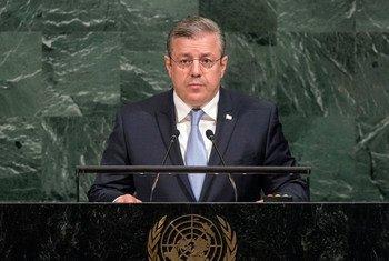 Премьер-министр Грузии Георгий Квирикашвили. Фото ООН/С.Пак