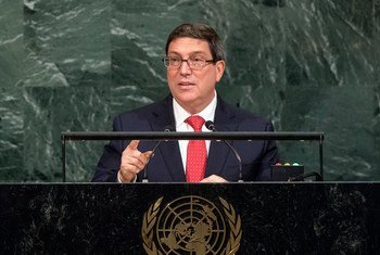 Bruno Eduardo Rodríguez Parrilla, Minister for Foreign Affairs of Cuba, addresses the general debate of the General Assembly's seventy-second session.