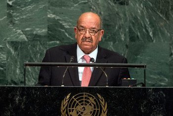 Abdelkader Messahel, Minister for Foreign Affairs of Algeria, addresses the general debate of the General Assembly's seventy-second session.
