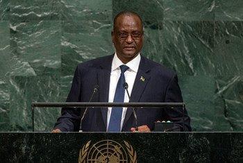 تابان ديمغ غاي النائب الأول لرئيس جنوب السودان - الصورة: الأمم المتحدة