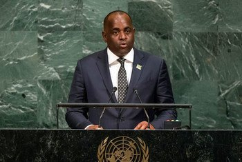 Prime Minister Roosevelt Skerrit of the Commonwealth of Dominica addresses the general debate of the General Assembly's seventy-second session.