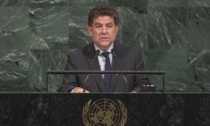Gustavo Meza-Cuadra, Permanent Representative of Peru to the United Nations, addresses the general debate of the General Assembly's seventy-second session.